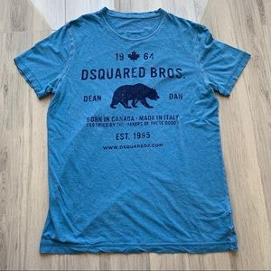Dsquared2 Bear Melange Tee
